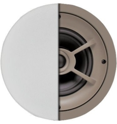 Ceiling Speaker with 6-1/2inch Polypropylene Woofer and 1inch Pivoting Silk-Dome Tweeter - ( C621 )
