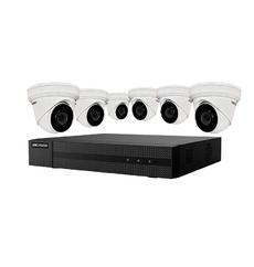 Ensemble Hikvision NVR 8 canaux et 6 cameras IP de 4MPX- ( EKI-K82T46 )