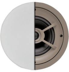 Haut-parleur de plafond en polypropylène de 6-1/2 pouces et tweeter pivotant à dôme en soie - ( C621 )