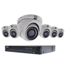 Hikvision TurboHD 8-channel DVR set - ( T7208U2TA6 )