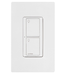Lutron Wireless 6A In-Wall Neutral Switch, 120V - ( PD-6ANS-WH )