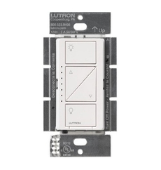 Lutron Wireless Smart Lighting Dimmer Switch for Wall - ( PD-6WCL-WH-C)